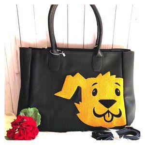 Oversized Puppy Dog Tote/Carryall